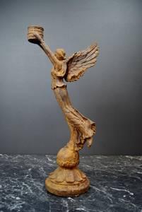 Bilde av Lysestake, Engel i rust